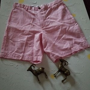 BROOKS BROTHERS LINEN BLEND PINK